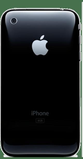 Apple iPhone 3GS 16GB Black back