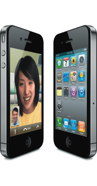 Apple iPhone 4 32GB Black side