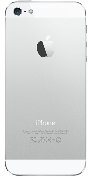 Apple iPhone 5 16GB White back