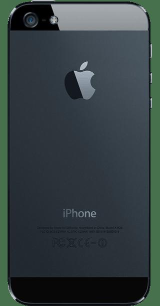Apple iPhone 5 64GB Black back