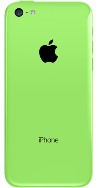 Apple iPhone 5c 16GB Green back