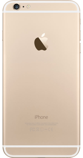 Apple iPhone 6 Plus 128GB Gold back