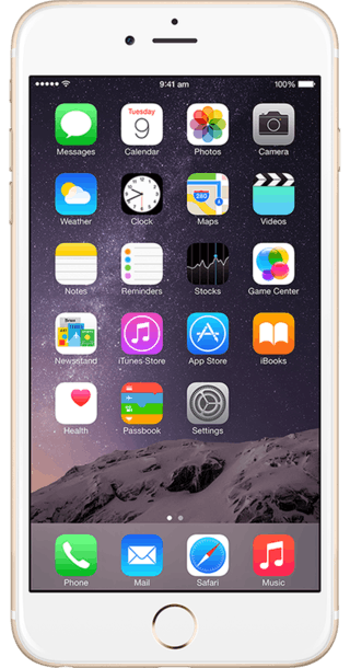 Apple iPhone 6 Plus 128GB Gold front