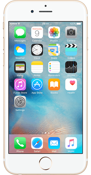 Apple iPhone 6s 16GB Gold front
