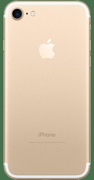 Apple iPhone 7 32GB Gold back