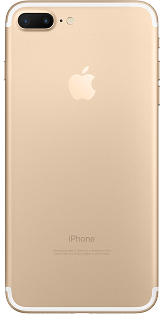 Apple iPhone 7 Plus 128GB Gold back