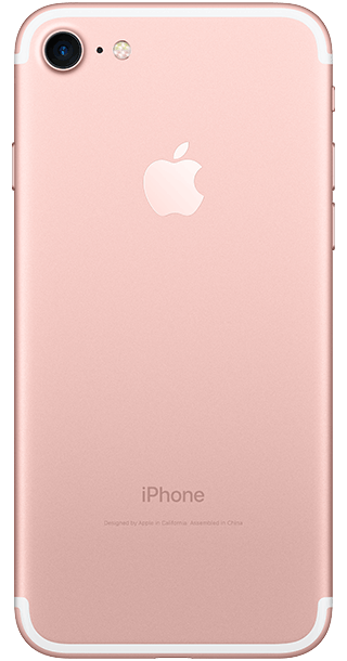 Apple iPhone 7 256GB Rose Gold back