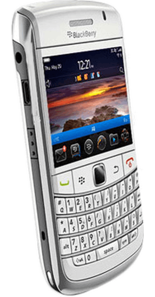 BlackBerry Bold 9780 White back