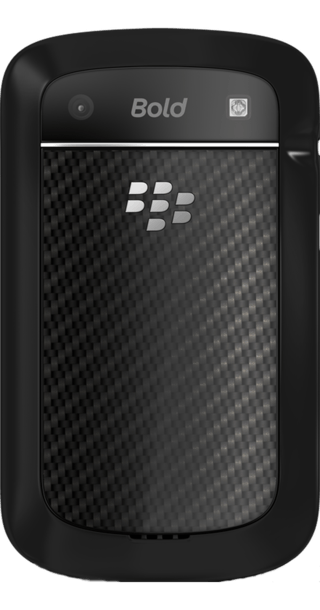 BlackBerry Bold 9900 back
