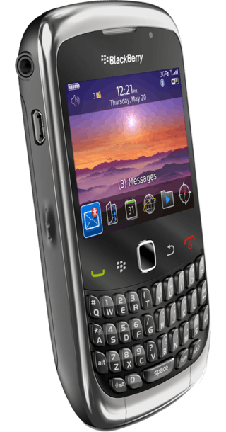 BlackBerry Curve 3G 9300 back