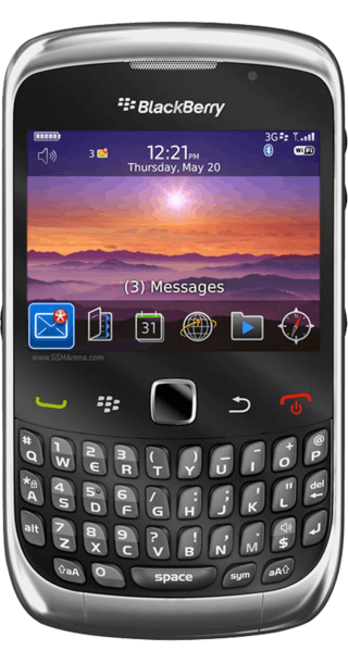 BlackBerry Curve 3G 9300 front