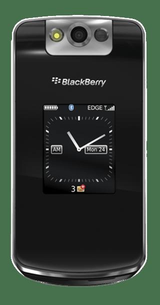 BlackBerry Pearl Flip 8220 front