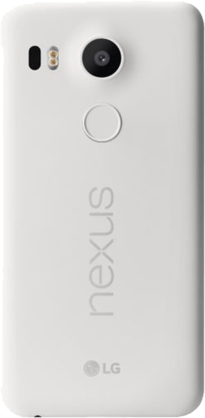 Google Nexus 5X 32GB White back