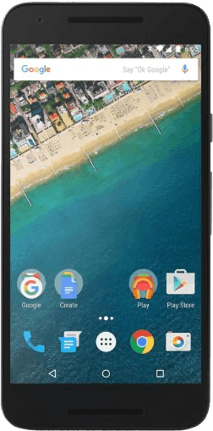 Google Nexus 5X 32GB White front