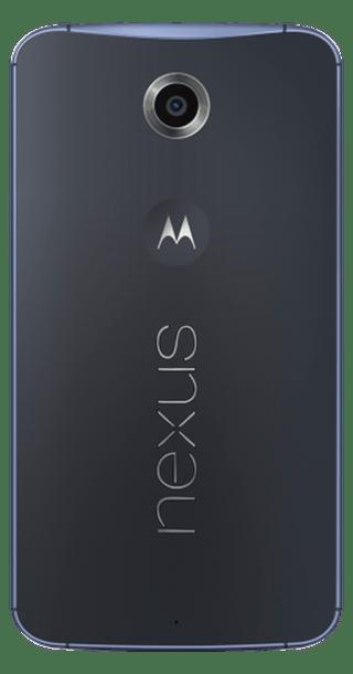 Google Nexus 6 64GB Blue back