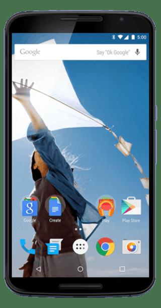Google Nexus 6 64GB Blue front