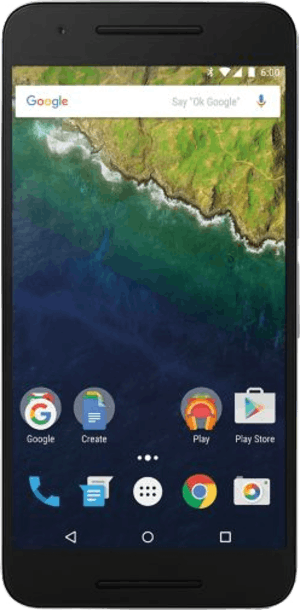 Google Nexus 6P 32GB Black front