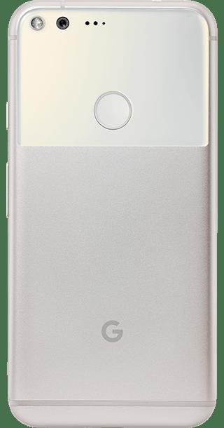 Google Pixel 32GB Silver back