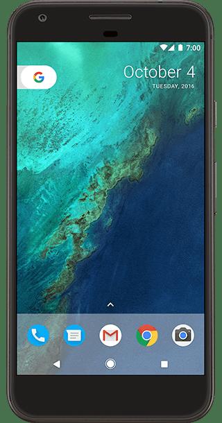 Google Pixel XL 32GB Black front