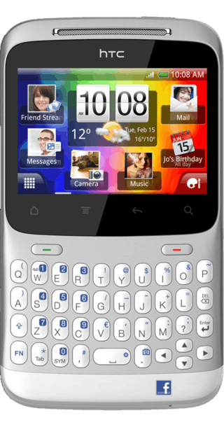 HTC ChaCha front