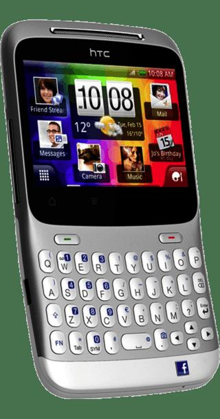 HTC ChaCha side