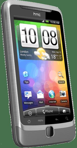 HTC Desire Z back