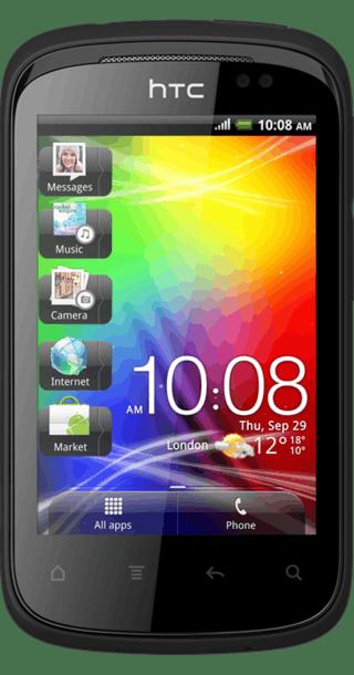 HTC Explorer front
