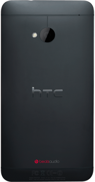HTC One (2013) back
