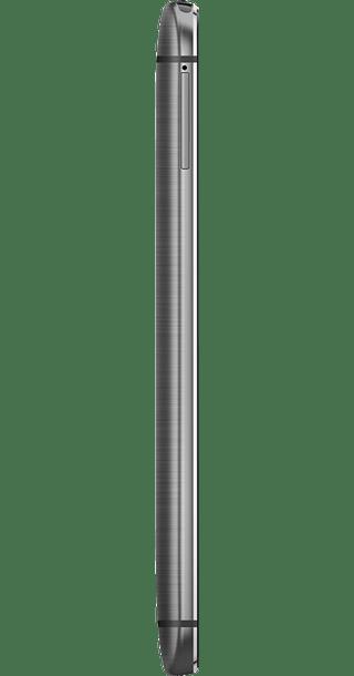 HTC One M8 Grey side