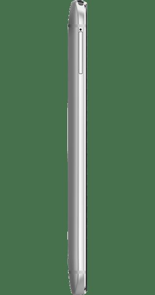 HTC One M8 Silver side