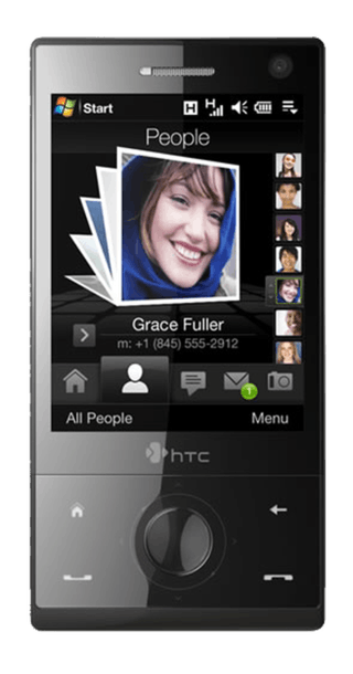 HTC Touch Diamond front