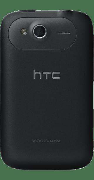 HTC Wildfire S Grey back