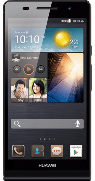 Huawei Ascend P6 front