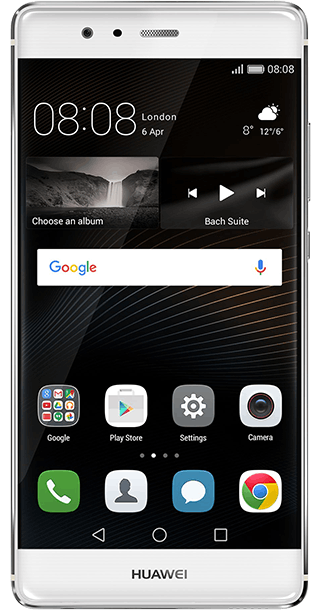 Huawei P9 32GB Silver front