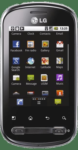 LG Optimus Me front
