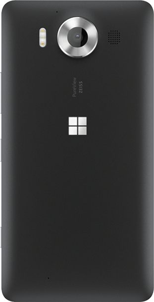 Microsoft Lumia 950 32GB Black back