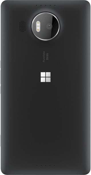 Microsoft Lumia 950 XL 32GB Black back