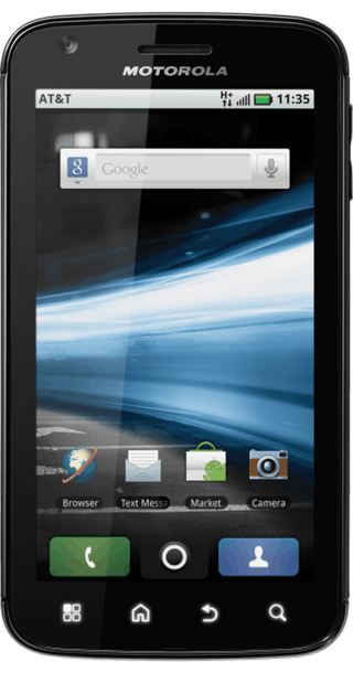 Motorola Atrix front