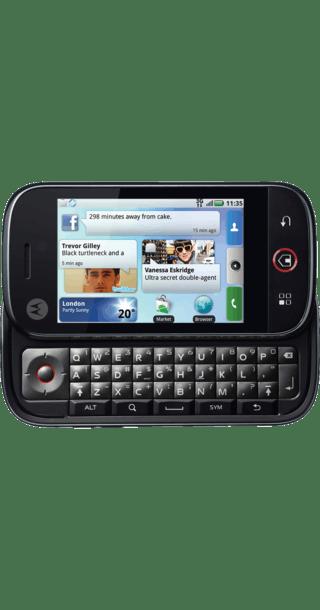 Motorola Dext back
