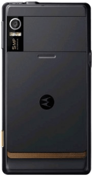 Motorola Milestone back