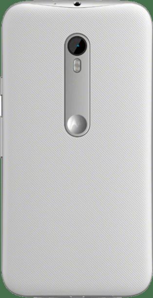 Motorola Moto G 2015 (3rd Gen) White back