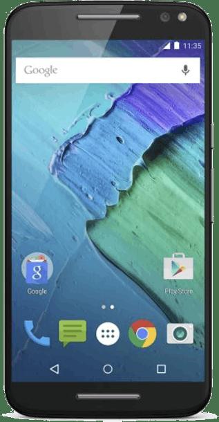 Motorola Moto X Style 32GB Black front