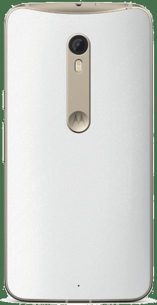 Motorola Moto X Style 32GB White back