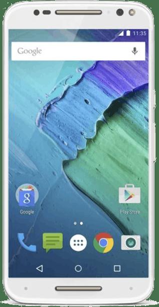 Motorola Moto X Style 32GB White front