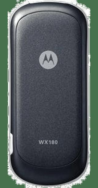 Motorola WX180 back