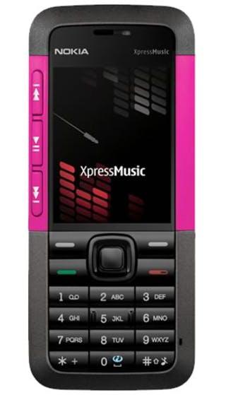 Nokia 5310 Pink CWM front