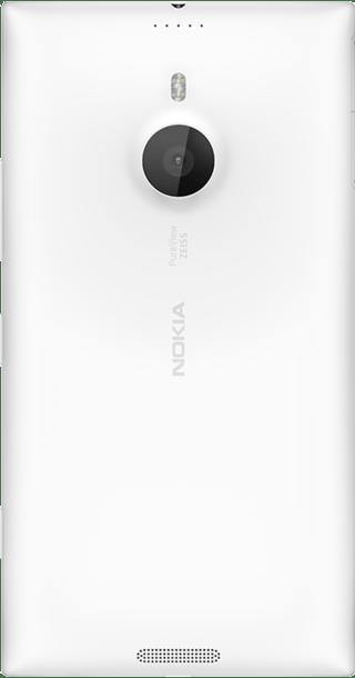 Nokia Lumia 1520 White back