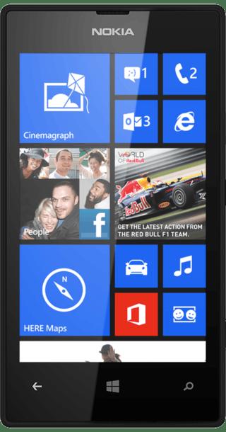 Nokia Lumia 520 front