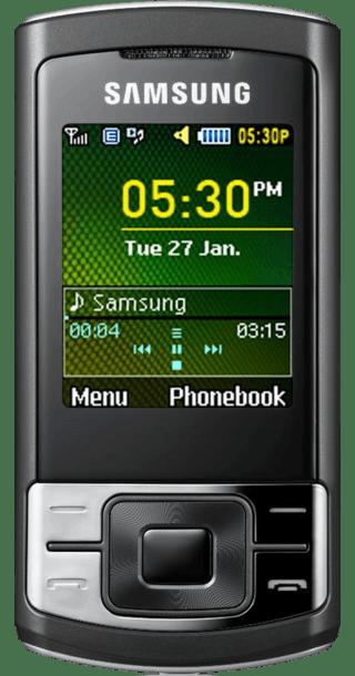 Samsung C3050 front