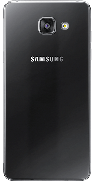 Samsung Galaxy A3 2016 Black back